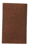 Marley Concrete Dark Red Plain Tile